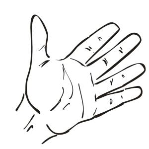 A Hand; A Fist