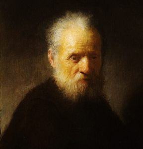"""Old Man With A Beard"" Rembrandt van Rijn c. 1630"