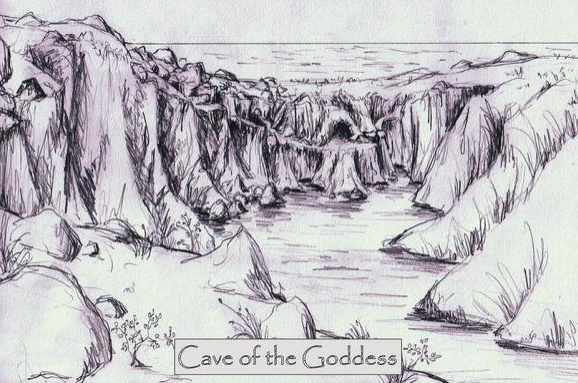 Map of Goddess' Cave