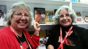 LK & TKT at Ippy booth